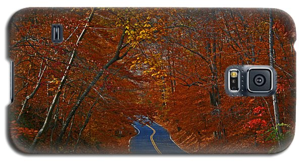 Galaxy S5 Case featuring the photograph Country Road by Andy Lawless