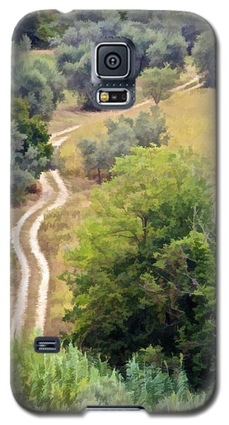 Country Road Of Tuscany Galaxy S5 Case