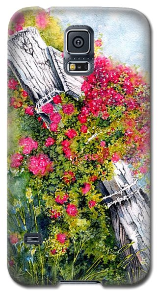 Country Rose Galaxy S5 Case