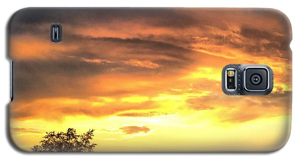 Country Scene From Hilltop To Hilltop Galaxy S5 Case