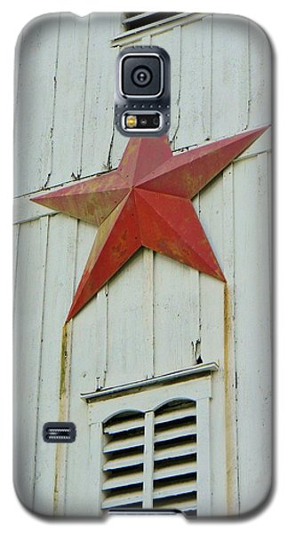 Galaxy S5 Case featuring the photograph Country Star by Jean Goodwin Brooks