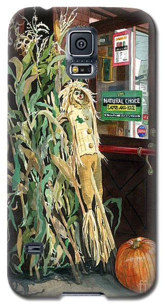 Galaxy S5 Case featuring the painting Country Store by Barbara Jewell
