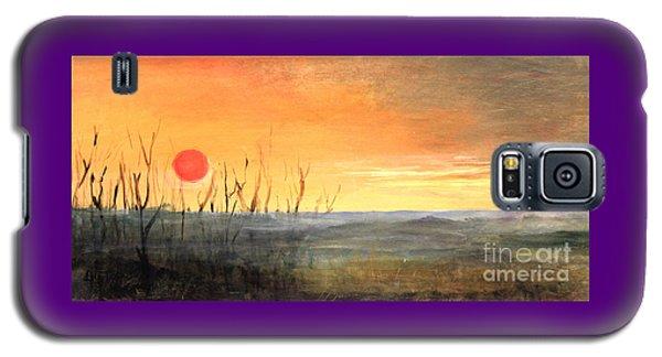 Country Sunset Jo Daviess Galaxy S5 Case