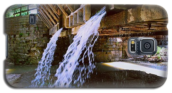 Galaxy S5 Case featuring the photograph Country Waterfall by Gary Wonning
