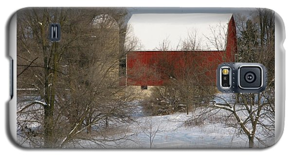 Galaxy S5 Case featuring the photograph Country Winter by Ann Horn