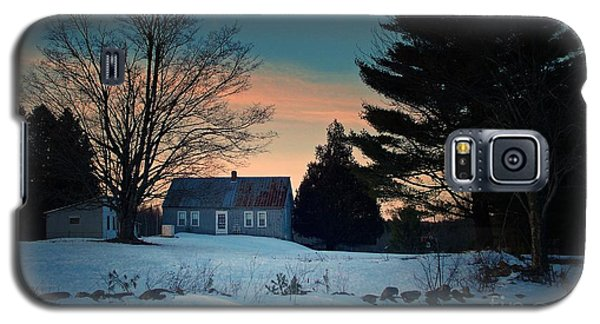 Countryside Winter Evening Galaxy S5 Case