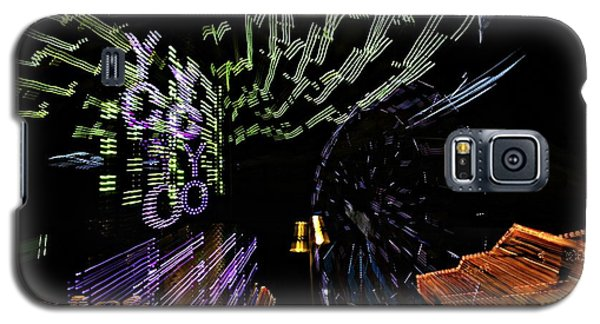 County Fair Abstract Galaxy S5 Case