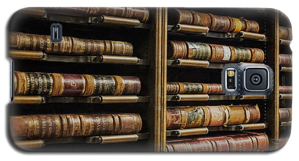 Courthouse Achival Books Galaxy S5 Case