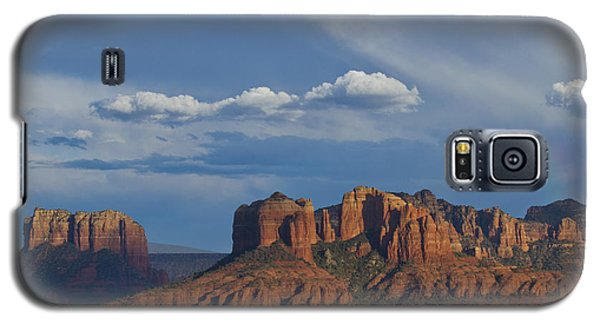 Courthouse And Cathedral Rocks Galaxy S5 Case