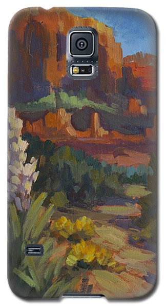 Courthouse Rock Sedona Galaxy S5 Case by Diane McClary