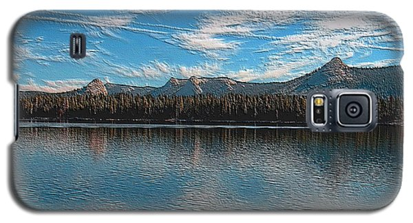 Courtright Reservoir Version II Galaxy S5 Case