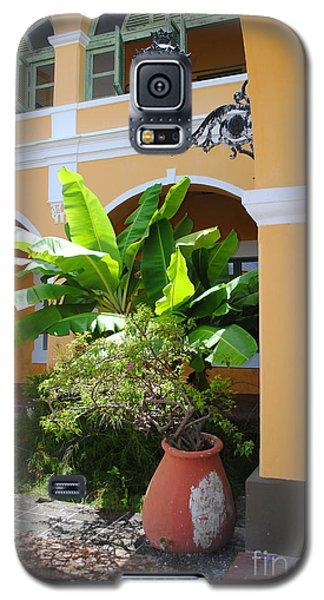 Courtyard Old San Juan Galaxy S5 Case