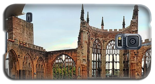 Coventry Cathedral Ruins Panorama Galaxy S5 Case