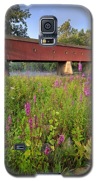 Covered Bridge West Cornwall Galaxy S5 Case