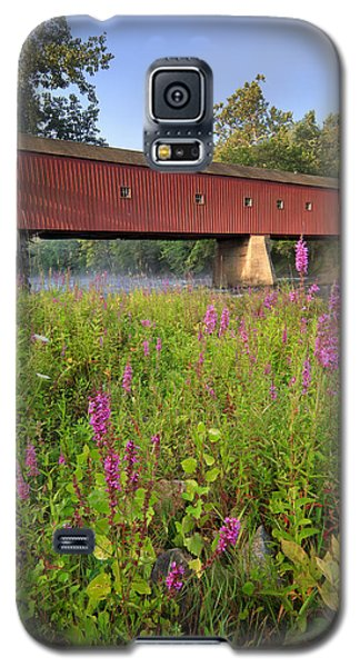 Covered Bridge West Cornwall Galaxy S5 Case