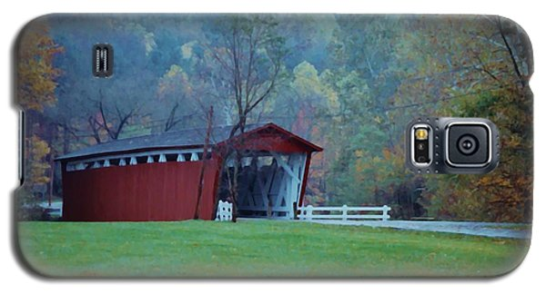 Covered Bridge Galaxy S5 Case by Diane Alexander