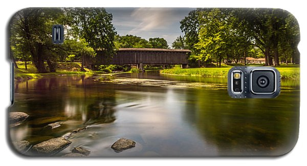 Covered Bridge Long Exposure Galaxy S5 Case