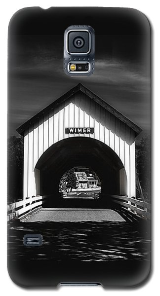 Covered Bridge Galaxy S5 Case by Melanie Lankford Photography