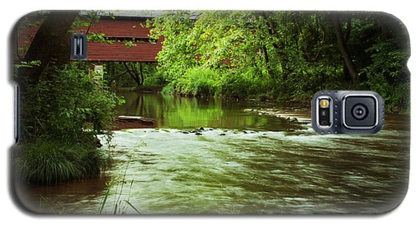 Covered Bridge Over French Creek Galaxy S5 Case