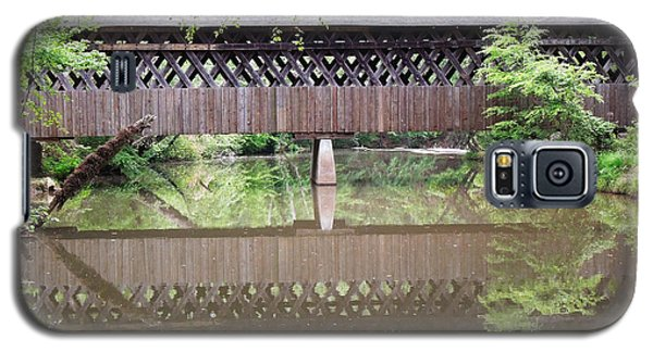 Galaxy S5 Case featuring the photograph Covered Bridge by Pete Trenholm