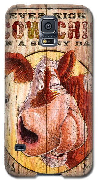 Crane Galaxy S5 Case - Cow Chip by JQ Licensing
