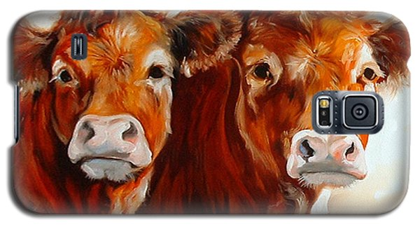 Cow Cow Galaxy S5 Case