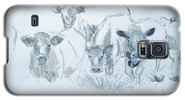 Cow Drawing Galaxy S5 Case