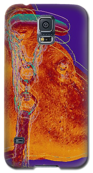 Cow Pop Art Galaxy S5 Case by Jean luc Comperat