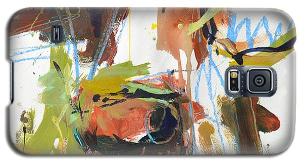 Cow With Green And Brown Galaxy S5 Case