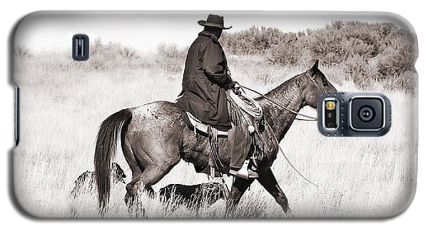 Cowboy And Dogs Galaxy S5 Case