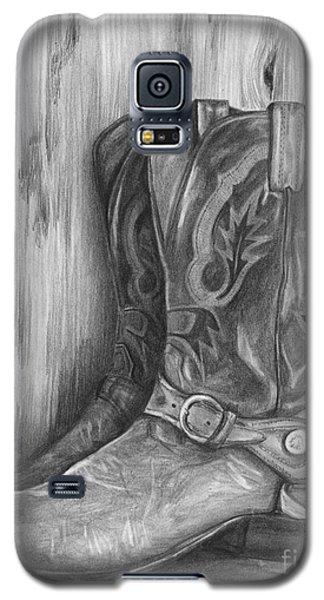 Cowboy Boot Study Galaxy S5 Case