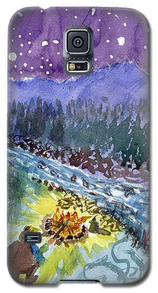 Cowboy Campout Galaxy S5 Case