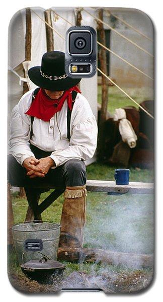 Cowboy Re-enactor Galaxy S5 Case