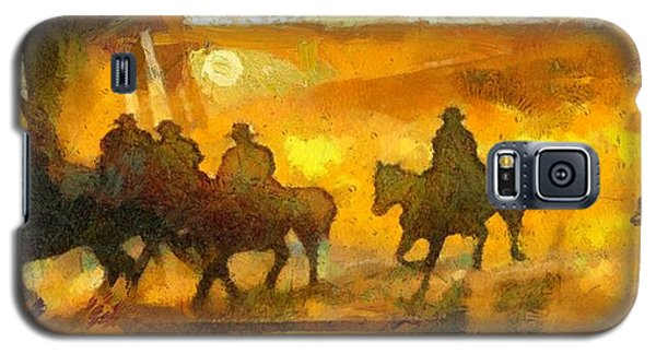 Cowboys Love To Ride Galaxy S5 Case
