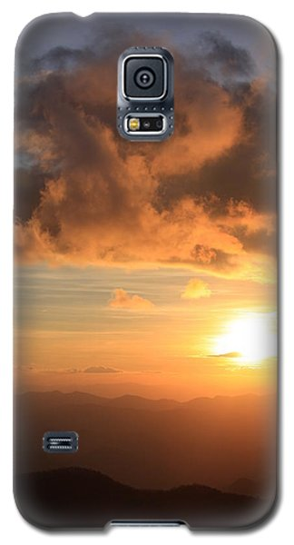 Cowee Mountains Sunset - Blue Ridge Parkway Galaxy S5 Case