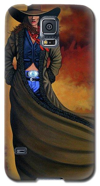 Cowgirl Dust Galaxy S5 Case
