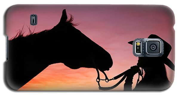 Cowgirl Sunset Galaxy S5 Case by Todd Klassy