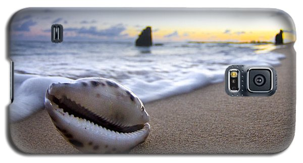 Cowrie Sunrise Galaxy S5 Case by Sean Davey
