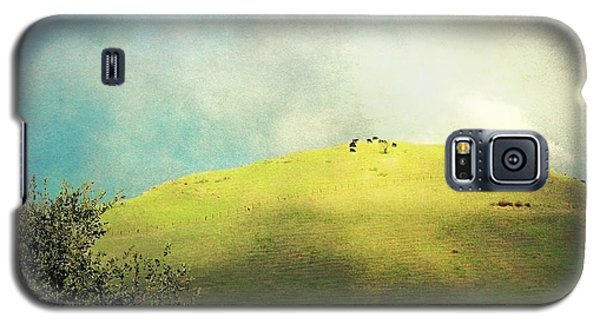 Cows On A Hill Galaxy S5 Case