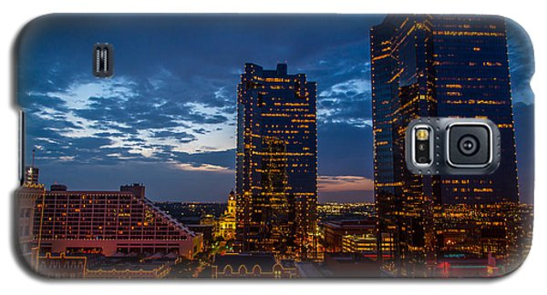 Cowtown At Night Galaxy S5 Case