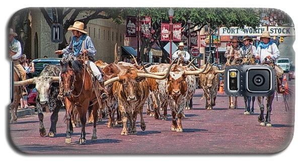 Cowtown Cattle Drive Galaxy S5 Case