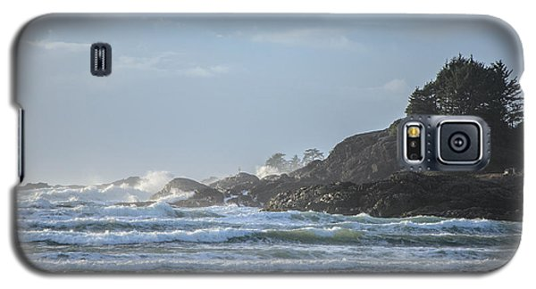 Cox Bay Afternoon Waves Galaxy S5 Case