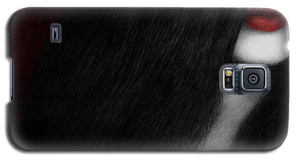Galaxy S5 Case featuring the painting Coy by Pat Erickson