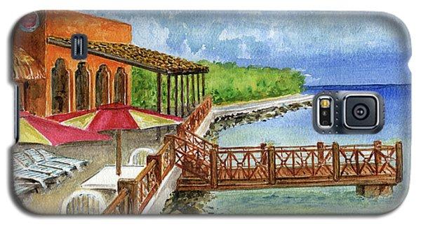 Cozumel Mexico Little Pier Galaxy S5 Case