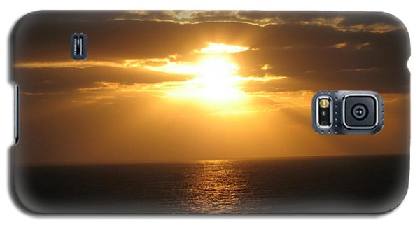 Galaxy S5 Case featuring the photograph Cozumel Mexico Sunset by Jean Marie Maggi