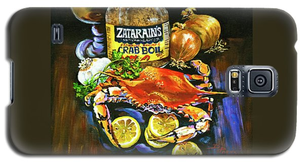 Crab Fixin's Galaxy S5 Case by Dianne Parks