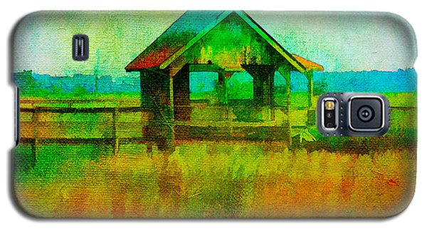 Crab Shack Pawleys Island Galaxy S5 Case by Frank Bright