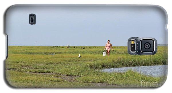 Crabbing At Mystic Island Galaxy S5 Case