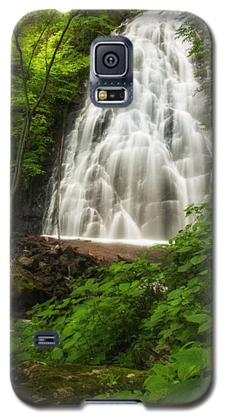 Galaxy S5 Case featuring the photograph Crabtree Falls by Photography  By Sai