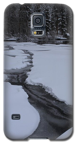 Galaxy S5 Case featuring the photograph Cracked Ice  by Duncan Selby